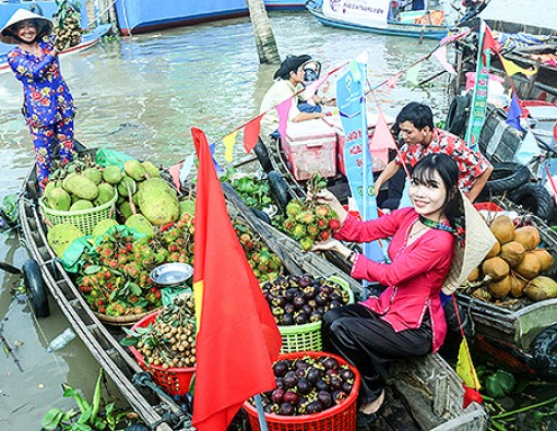 Cai Rang Floating Market, Vietnam's intangible cultural heritage