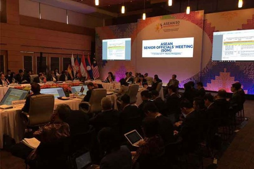 ASEAN officials discuss preparations for upcoming summit