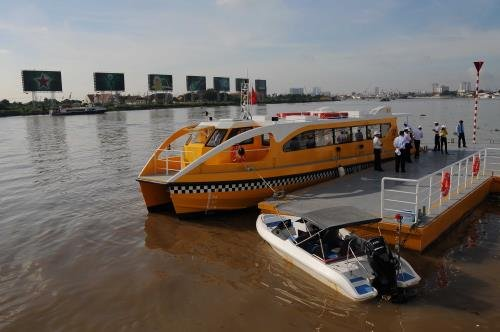 First river bus in HCM City to be operational on November 25