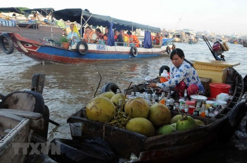 Cai Rang floating market culture festival opens in Can Tho