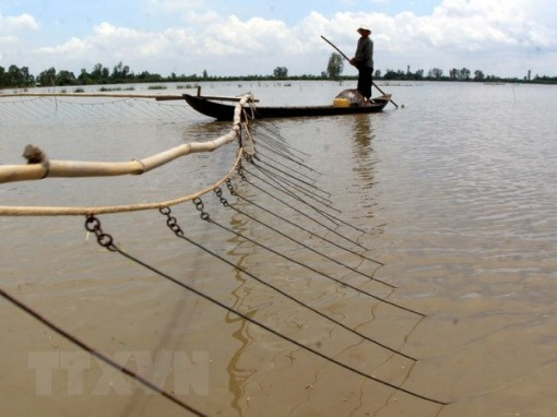 Mekong Delta region warned about serious flooding