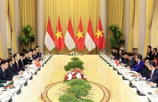 Vietnam, Indonesia Presidents look to lift two-way trade to 10 billion USD