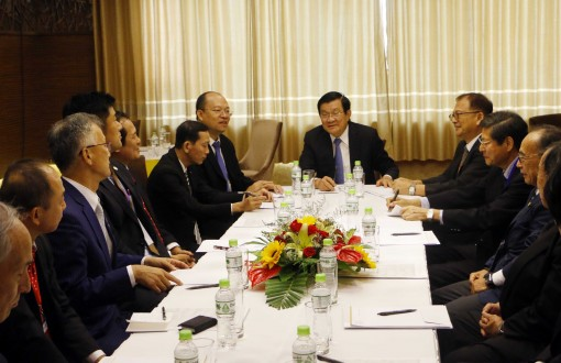 Can Tho leaders meet Japanese investors
