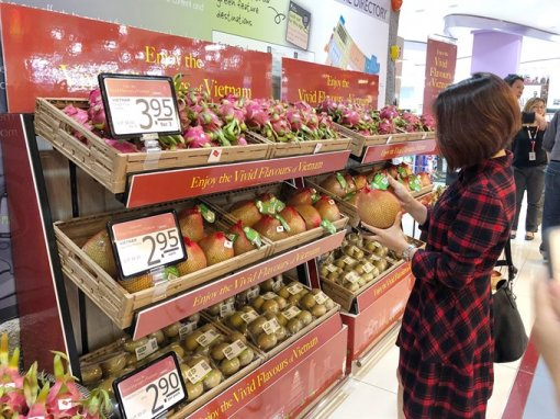 Vietnamese goods increase presence in Singapore
